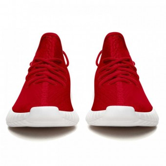 New York Giants Yeezy Boost 350 V2 Style Red Shoes