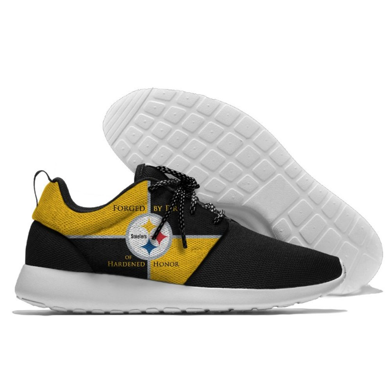 Pittsburgh Steelers Roshe Style Lightweight Running Shoes